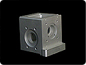 Custom Designed & CNC Milled Screw Drive Gearbox Housing